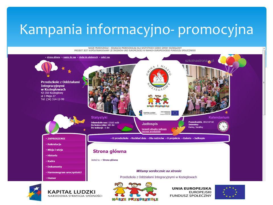 Kampania informacyjno- promocyjna