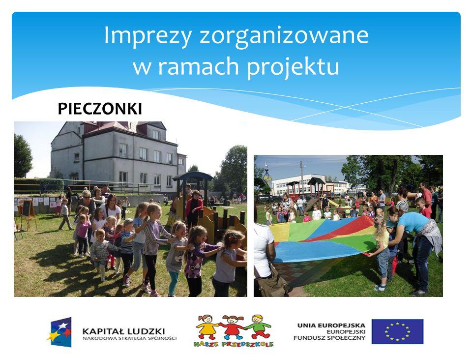 Imprezy zorganizowane w ramach projektu JASEŁKA