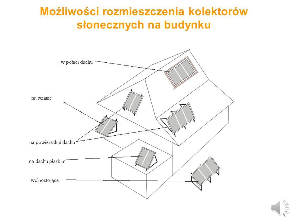 Kolektory słoneczne (2) Zadaniem kolektora jest pochłanianie docierającej do niego energii promieniowania słonecznego i przekazanie pozyskanej energii przepływającemu czynnikowi roboczemu, wodzie lub mieszance niezamarzającej w systemach cieczowych, lub też powietrzu w systemach powietrznych.