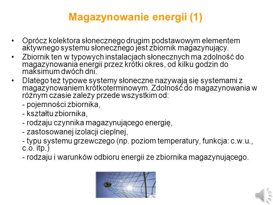 Schemat kolektora słonecznego z rurą ciepła Szczegółowy opis budowy i funkcjonowania kolektora z rurą ciepła znajduje się w części wykładowej.