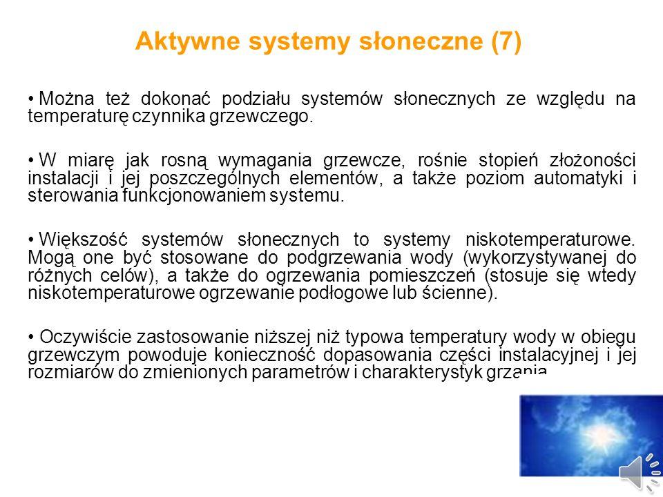 Aktywne systemy słoneczne (6) Schemat kolektorowej instalacji podgrzewania ciepłej wody użytkowej, ogrzewania pomieszczeń oraz podgrzewania wody w basenie (źródło Hewalex)