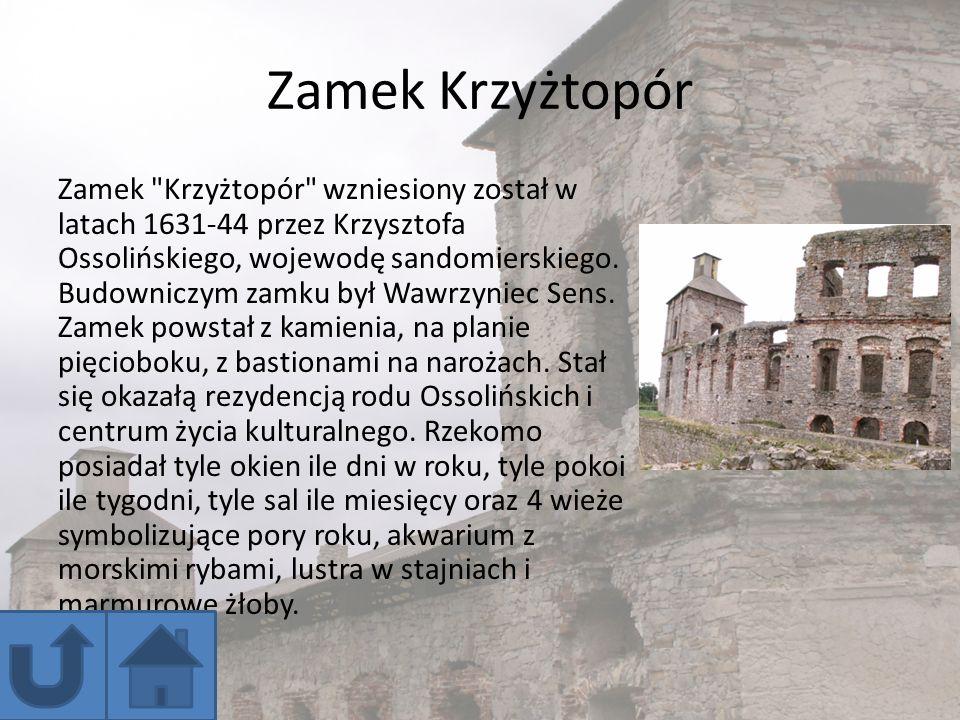 Zamek Krzyżtopór Zamek