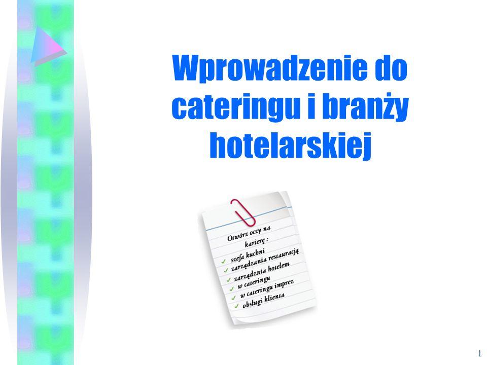Komercyjne - Kawiarnie Małe placówki gastronomiczne Oferują szeroki zakres napojów i przekąsek 12