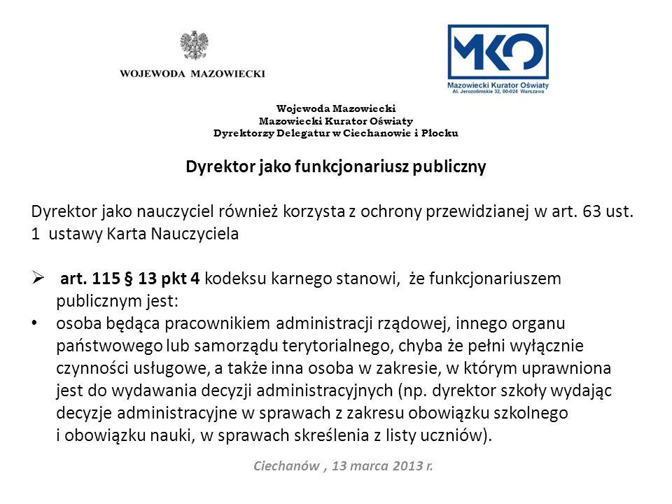 Czyny niedozwolone w praktyce szkolnej art.6 pkt.