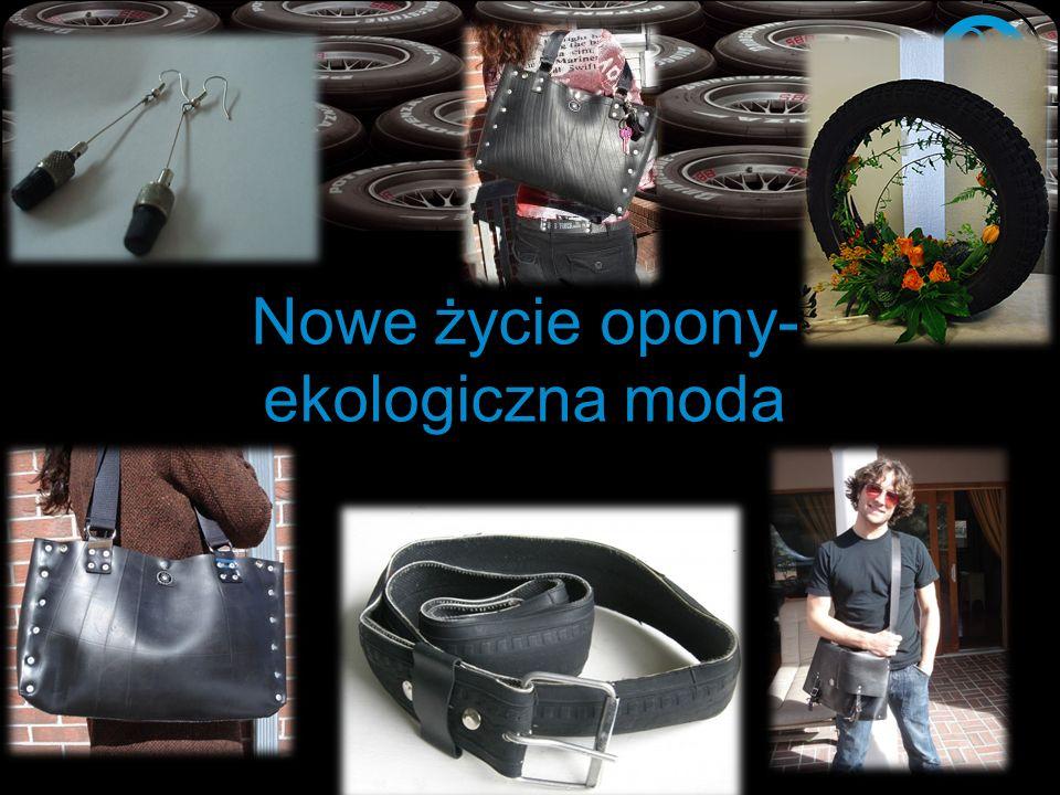 Nowe życie opony- ekologiczna moda