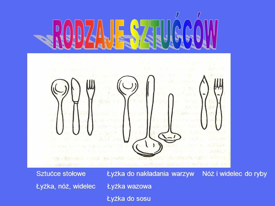 Sztućce stołowe Łyżka do nakładania warzyw Nóż i widelec do ryby Łyżka, nóż, widelec Łyżka wazowa Łyżka do sosu