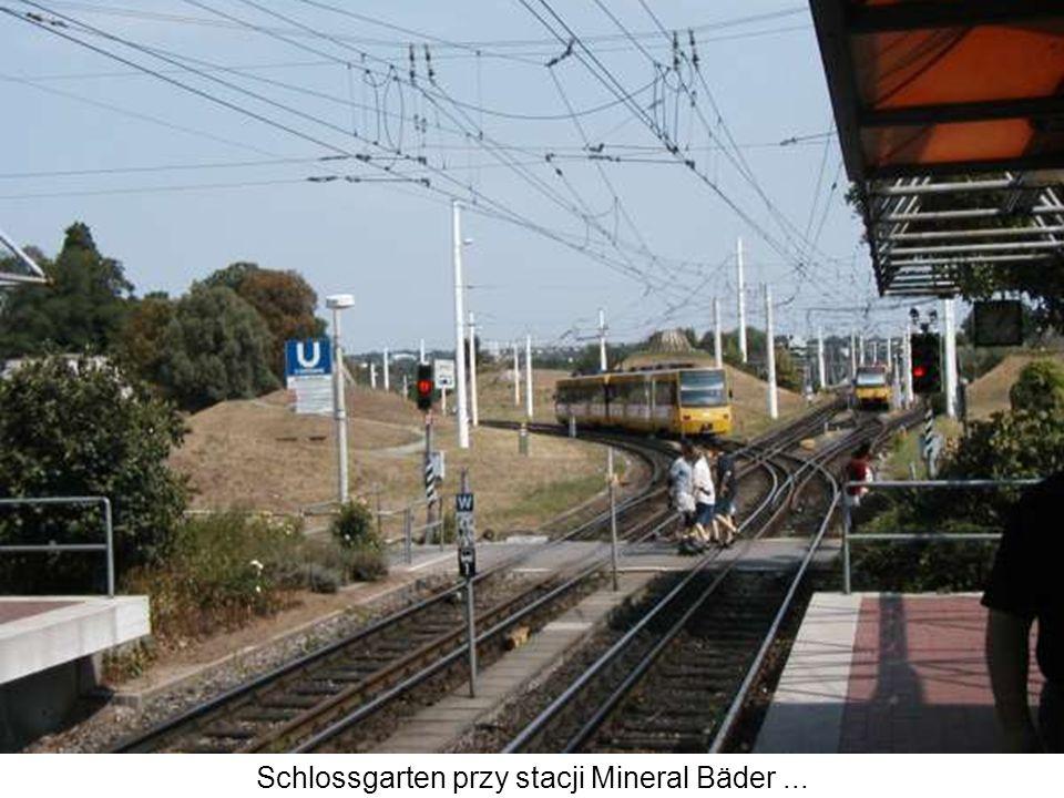 Schlossgarten przy stacji Mineral Bäder...