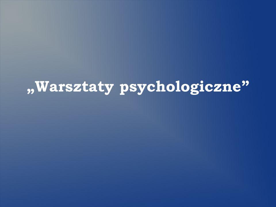 Warsztaty psychologiczne