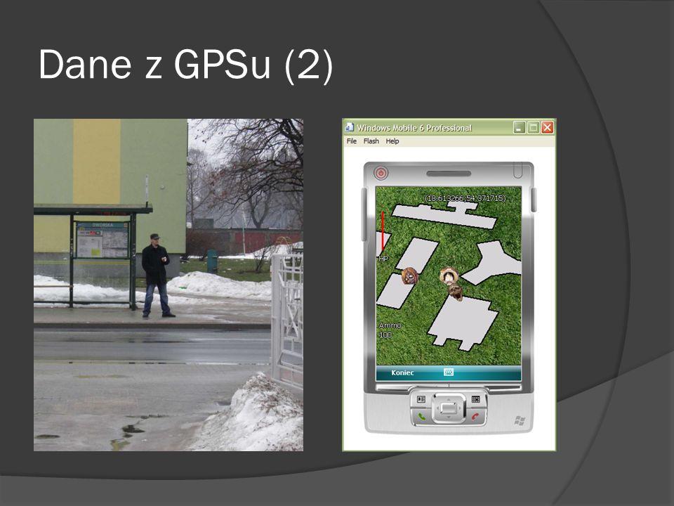 Dane z GPSu (2)