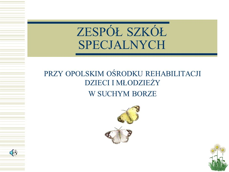 Historia ZSS w Suchym Borze Ośrodek leczniczy w Suchym Borze istnieje od 1 lipca 1947 roku.