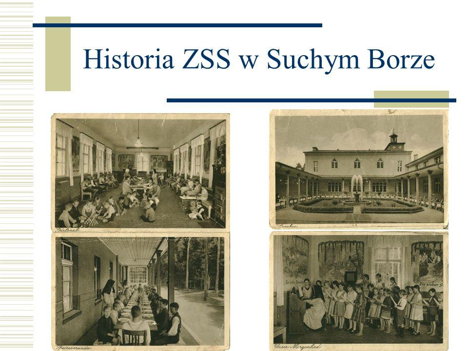 Historia ZSS w Suchym Borze W skład Zespołu wchodzą szkoła podstawowa i gimnazjum.