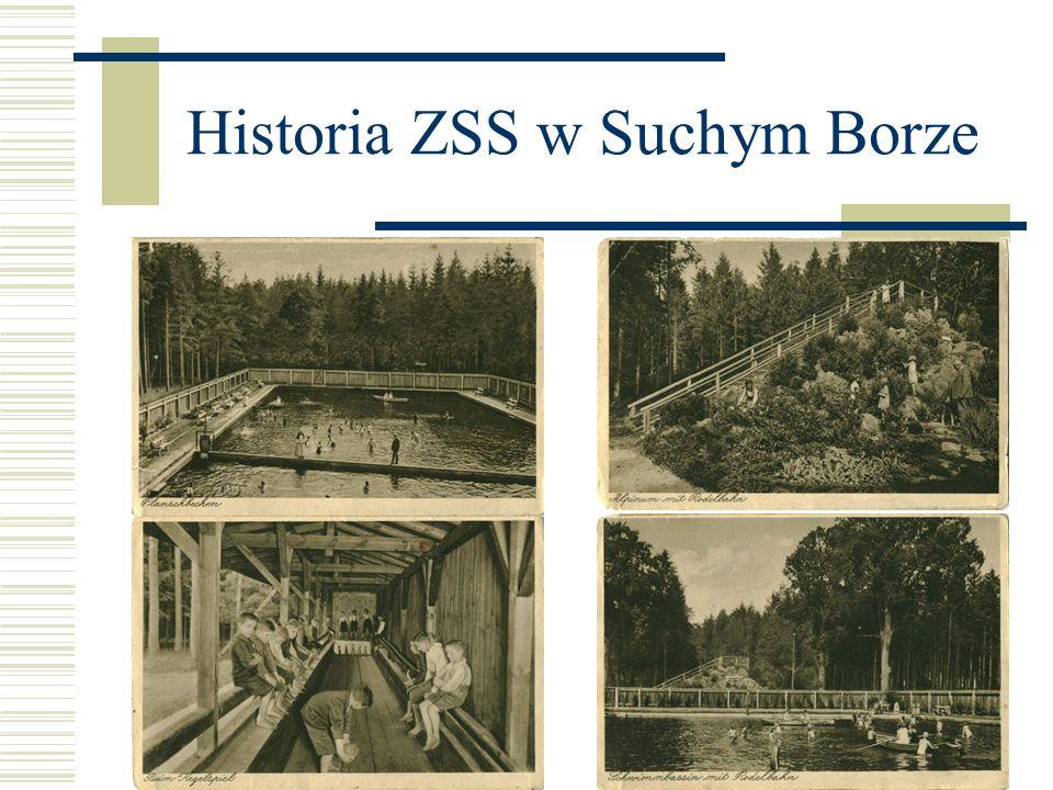 Historia ZSS w Suchym Borze Szkoła korzysta z programów unijnych, z pomocy sponsorów.