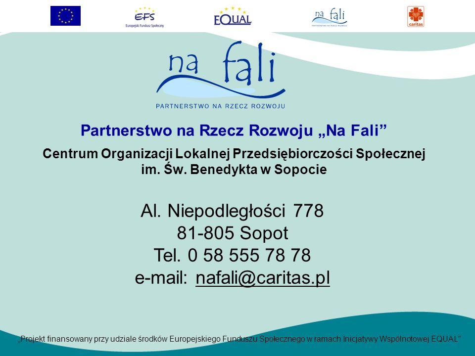 Partnerstwo na Rzecz Rozwoju Na Fali Centrum Organizacji Lokalnej Przedsiębiorczości Społecznej im.