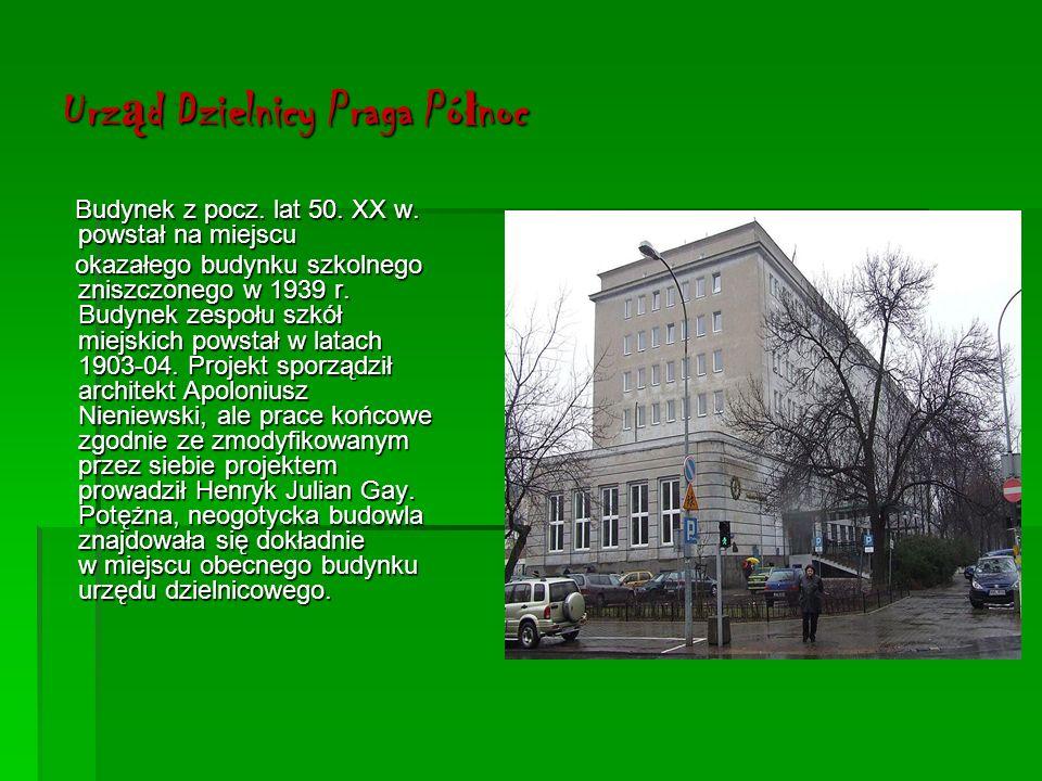 Szpital Praski Szpital został utworzony w 1868 r.i do dziś służy mieszkańcom Pragi.