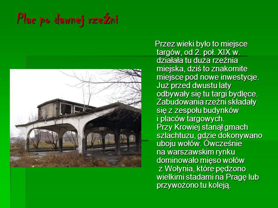 Park Praski Założony na mocy carskiego ukazu wydanego 4 kwietnia 1865 roku przez cara Aleksandra III, a więc w okresie intensywnego rozwoju Pragi.