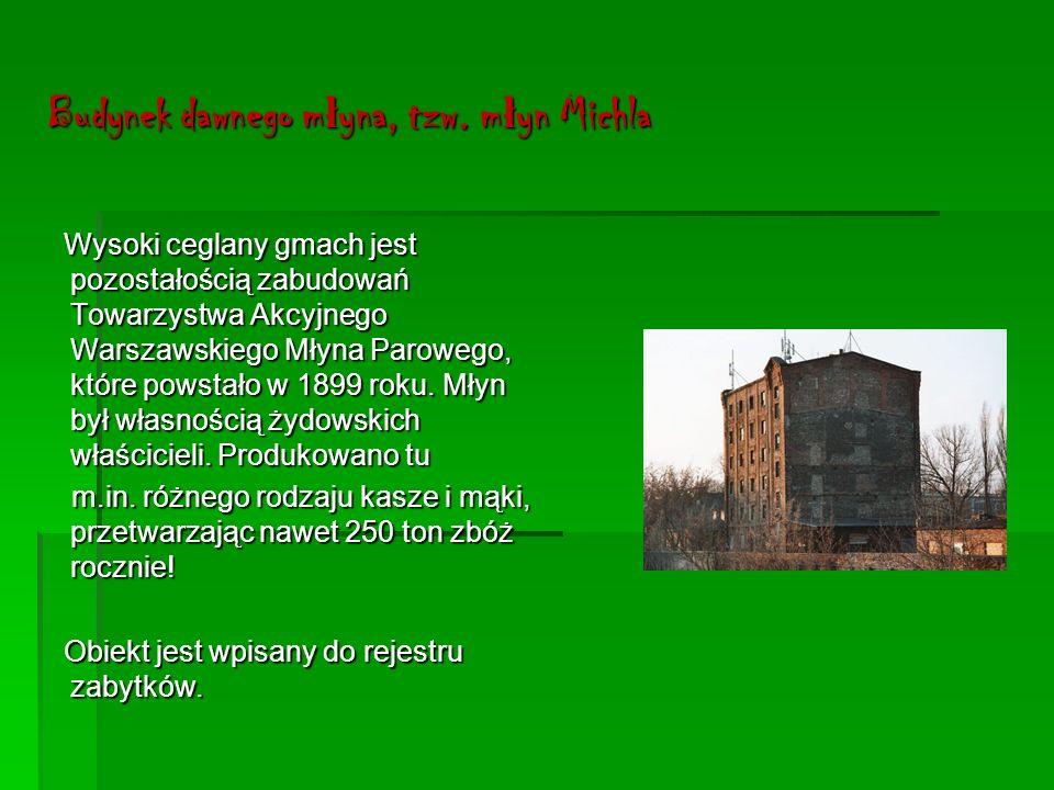 Komora Wodna Klasycystyczny budynek Klasycystyczny budynek przy ul.Kłopotowskiego1/3, służący obsłudze dawnego mostu, powstał w latach 1824-25 według projektu wybitnego architekta Antonio Corazziego.