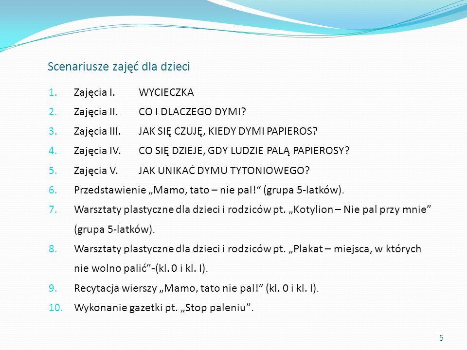 46 6. Przedstawienie Mamo, tato – nie pal!