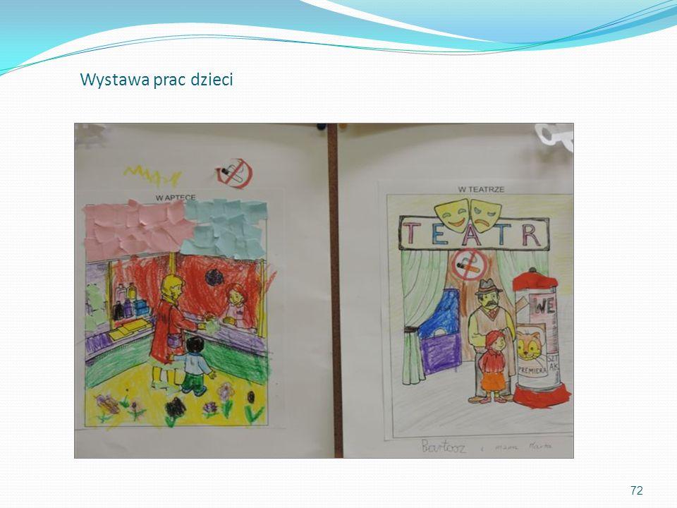 72 Wystawa prac dzieci
