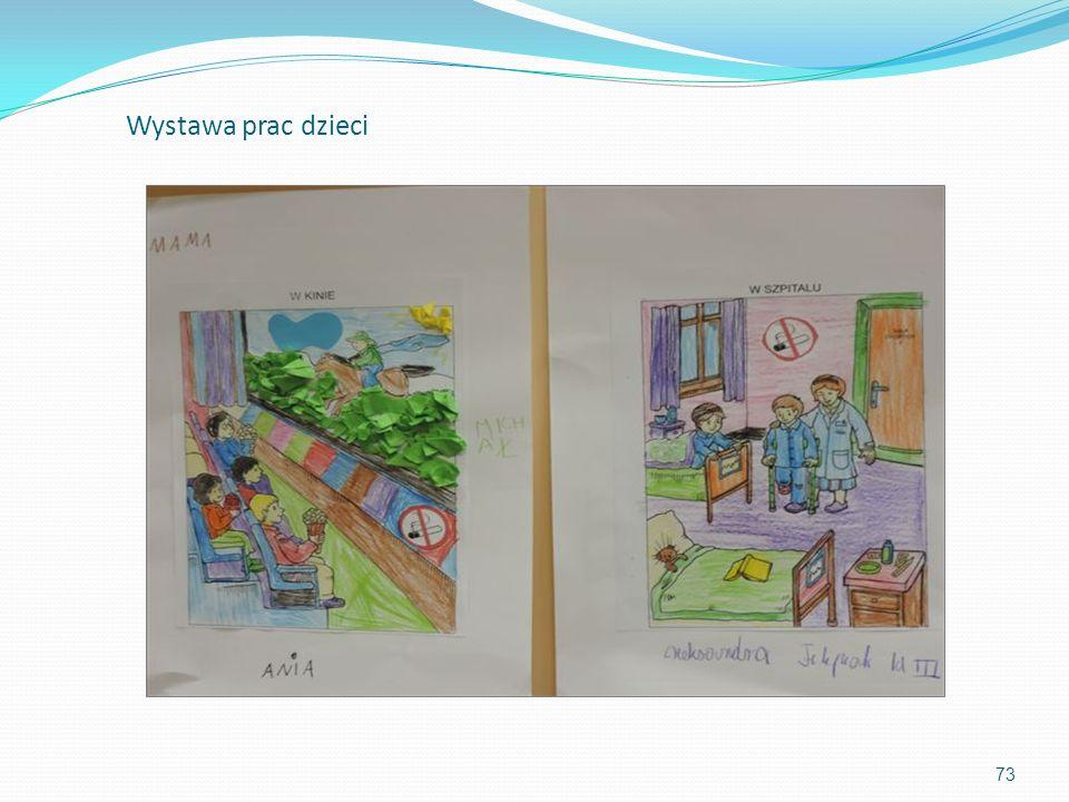 73 Wystawa prac dzieci