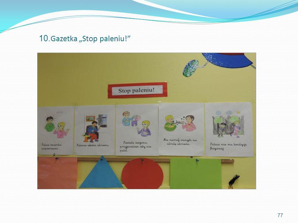 10. Gazetka Stop paleniu! 77