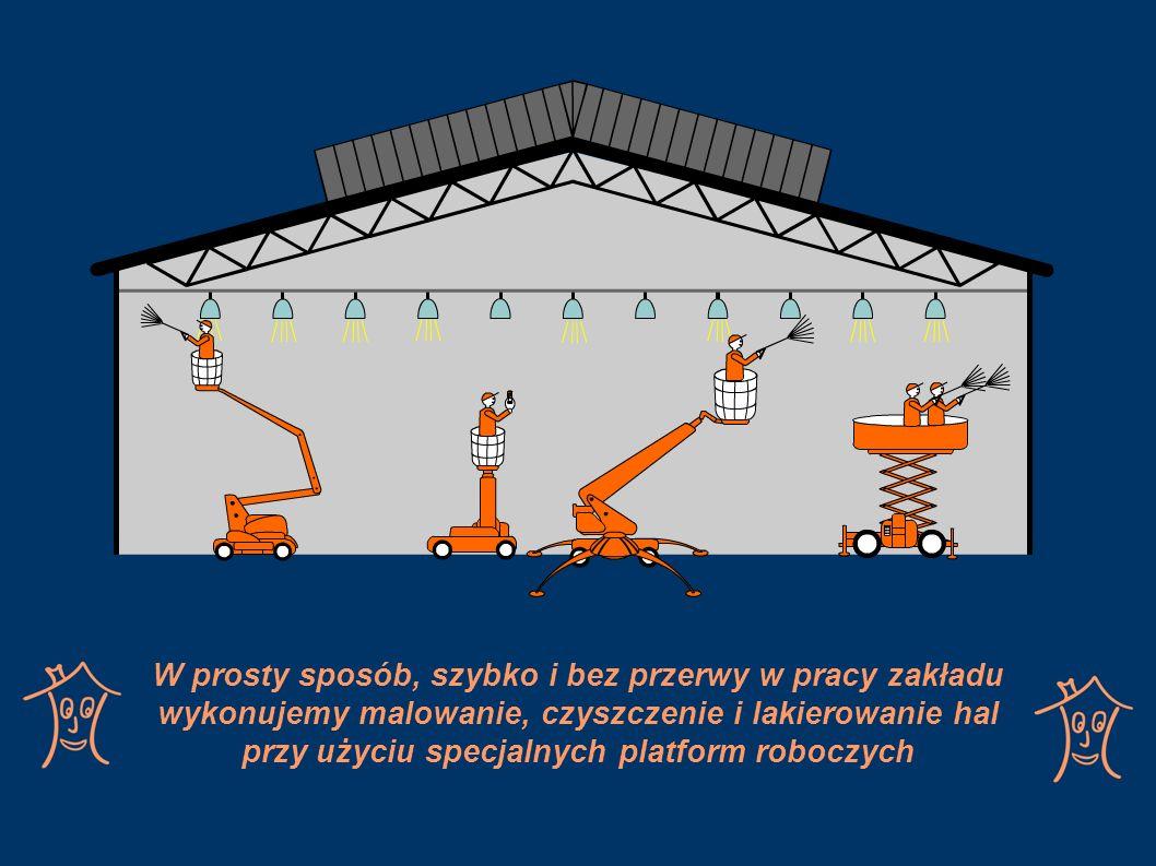 Wszyscy nasi pracownicy posiadają wszystkie wymagane szkolenia, zaś prace wykonywane są zgodnie z normami dotyczącymi bezpieczeństwa pracy