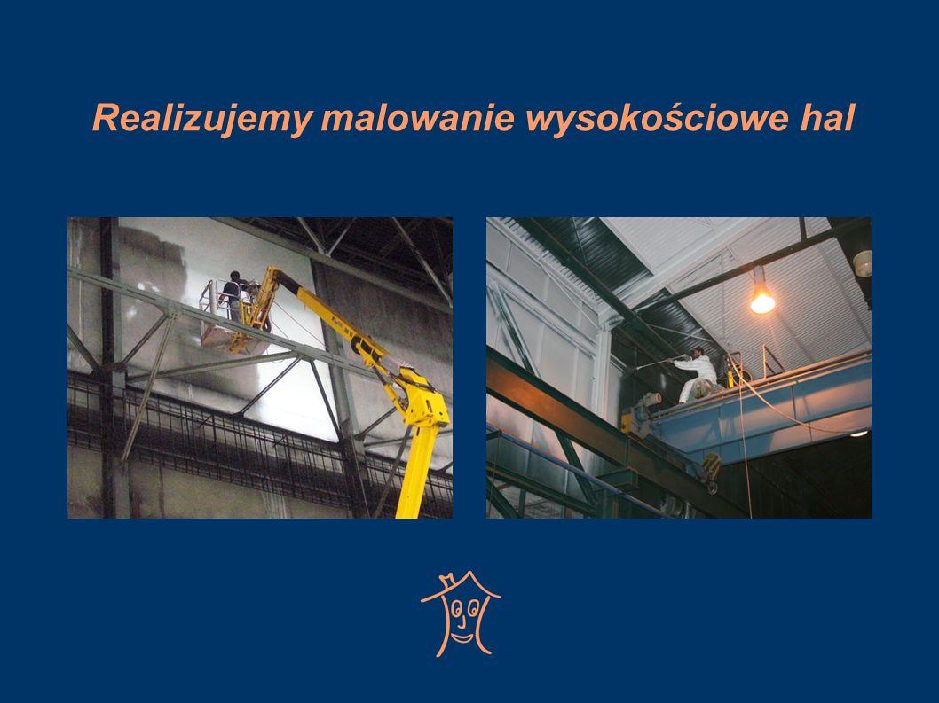 Czyścimy mechanicznie i chemicznie oświetlenie i ściany oświetleniowe