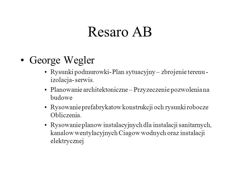 George Wegler Rysunki podmurowki- Plan sytuacyjny – zbrojenie terenu - izolacja- serwis.