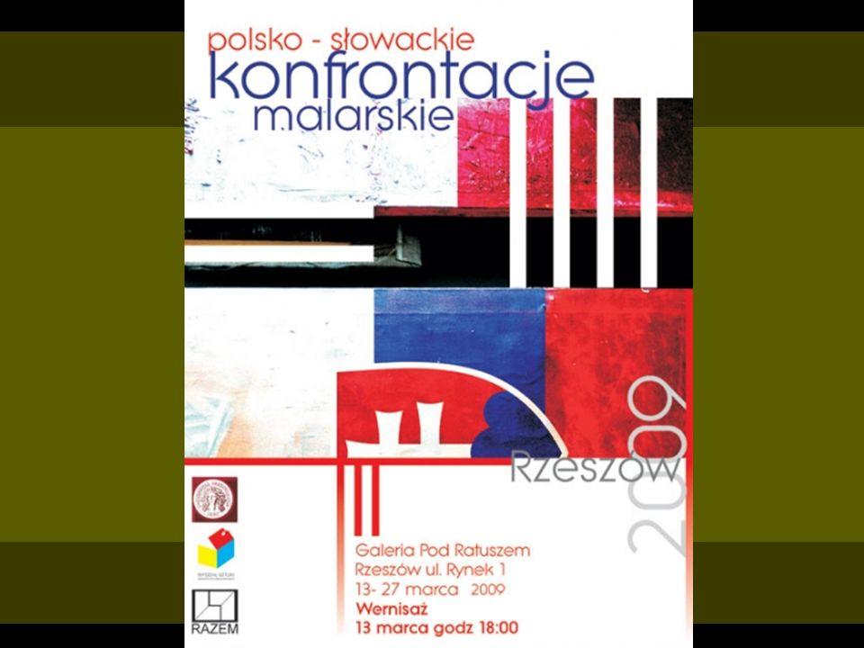 Wernisaż wystawy polsko- słowackich konfrontacji malarskich Fotografie z imprezy