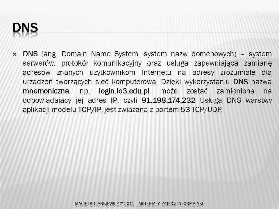DNS (ang.