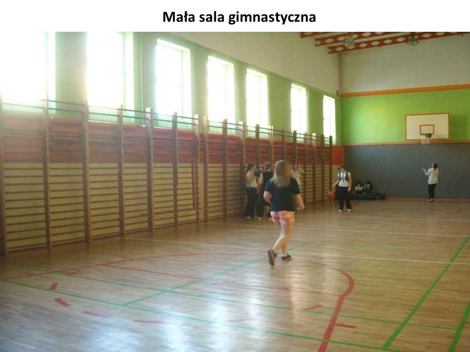 Mała sala gimnastyczna