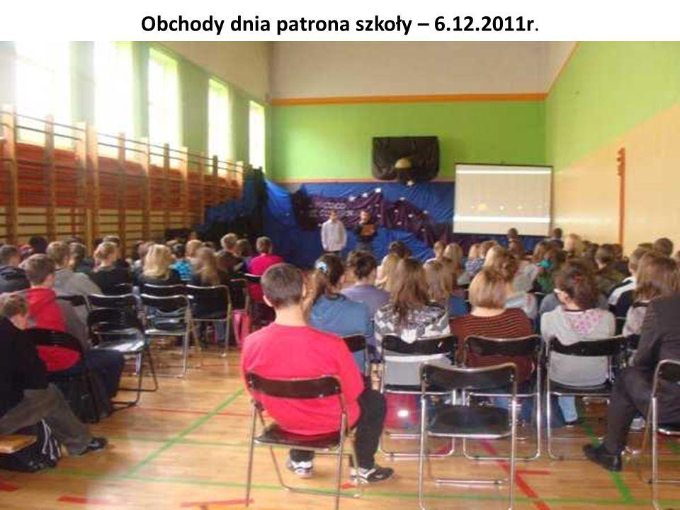 Obchody dnia patrona szkoły – 6.12.2011r.