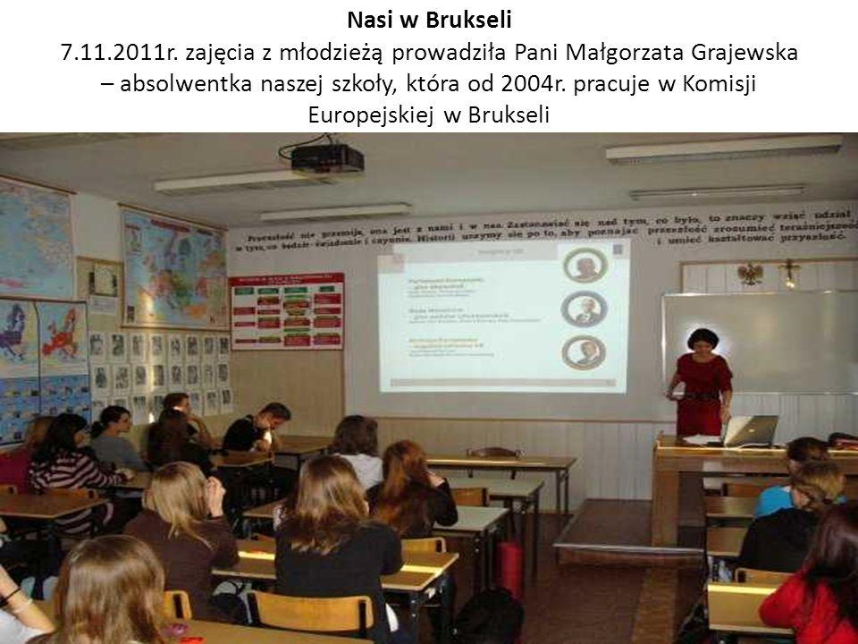 Nasi w Brukseli 7.11.2011r.