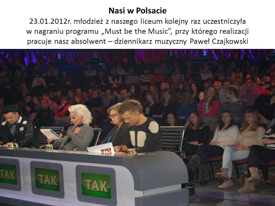 Nasi w Polsacie 23.01.2012r.