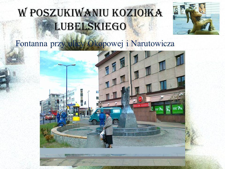 W poszukiwaniu Kozio ł ka Lubelskiego Fontanna przy ulicy Okopowej i Narutowicza