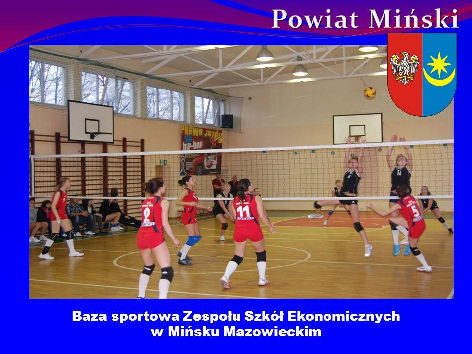 Baza sportowa Zespołu Szkół Ekonomicznych w Mińsku Mazowieckim