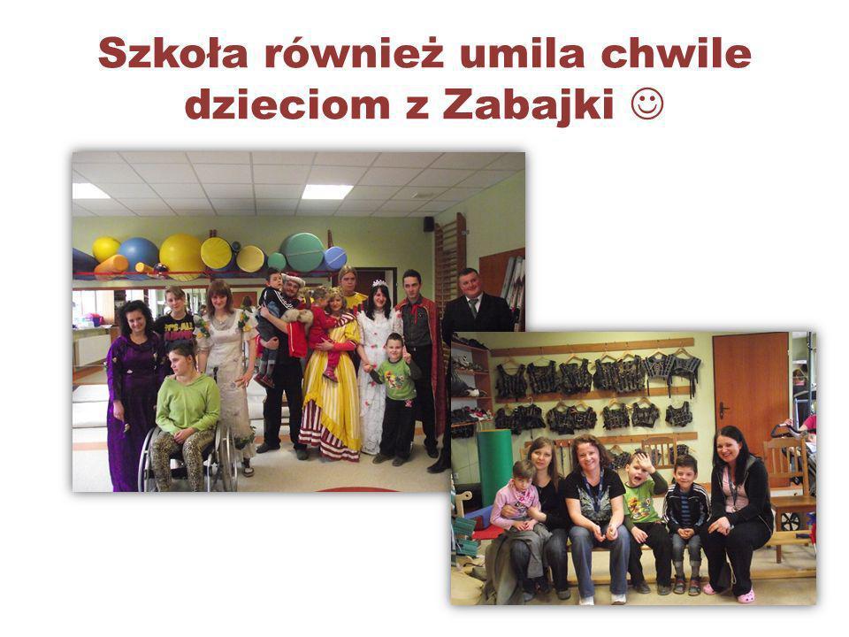 Szkoła również umila chwile dzieciom z Zabajki