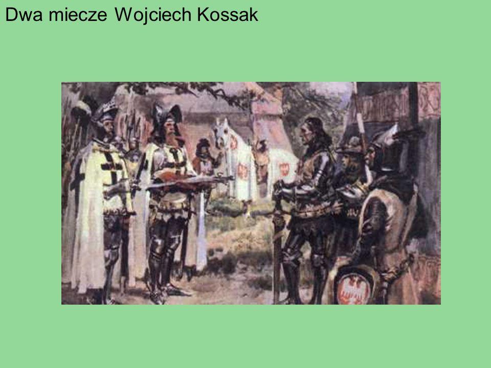 Dwa miecze Wojciech Kossak