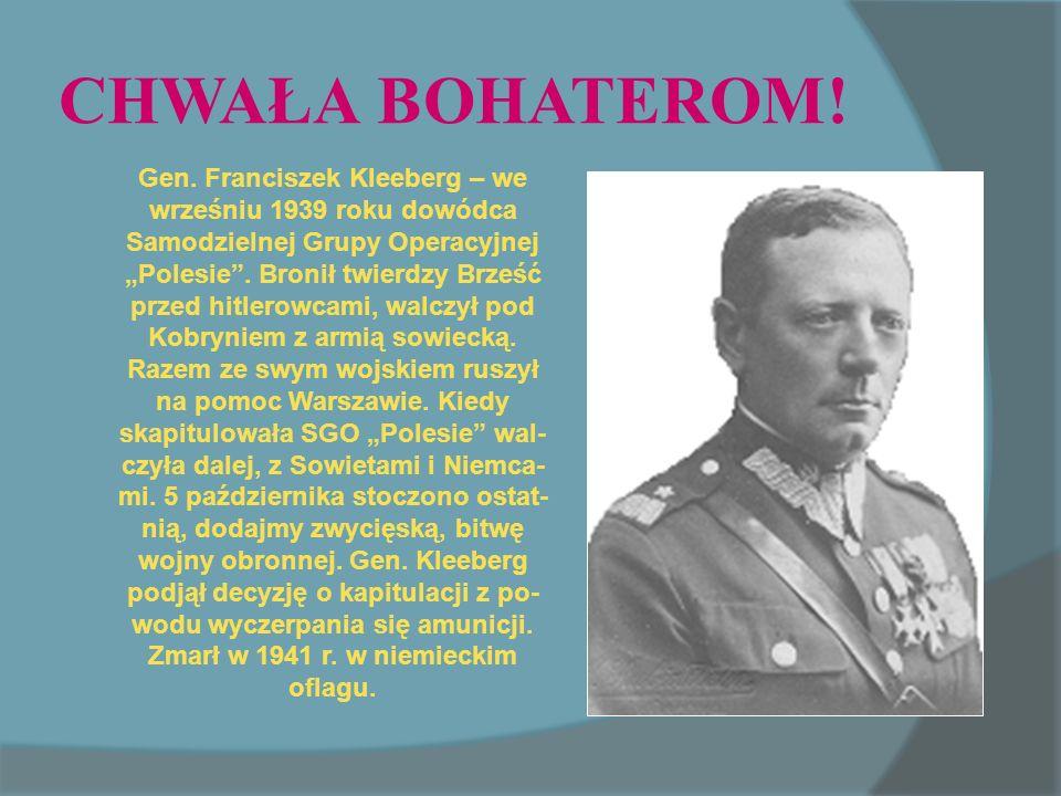 CHWAŁA BOHATEROM.Gen.