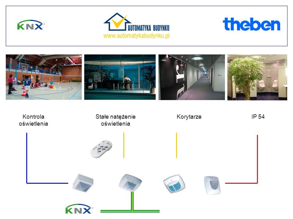 Mix actuators IP 54Stałe natężenie oświetlenia Kontrola oświetlenia Korytarze