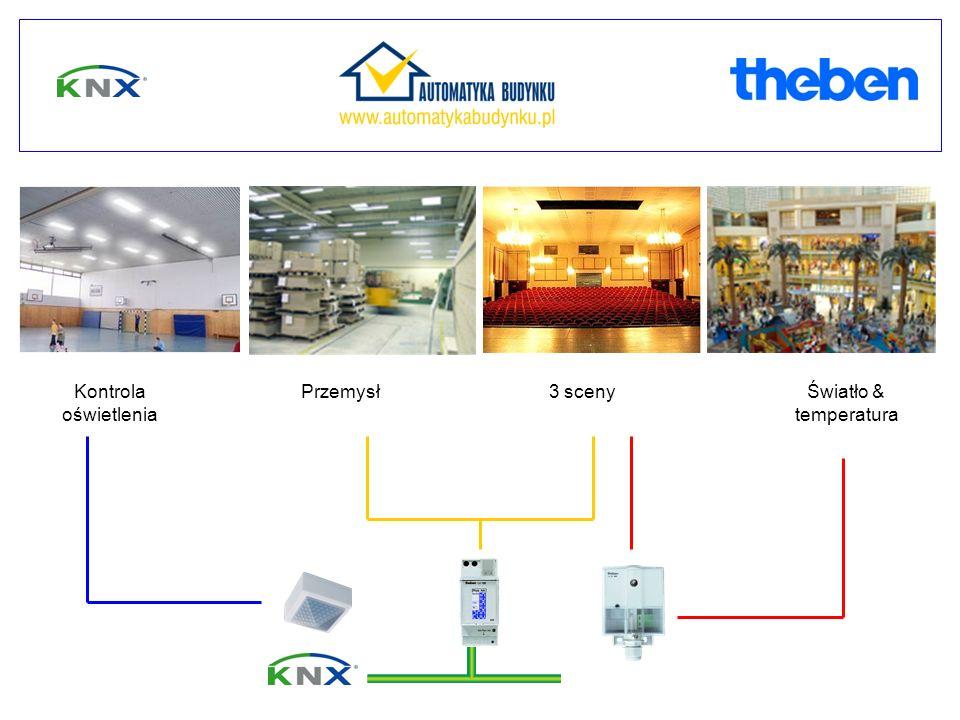 Światło & temperatura PrzemysłKontrola oświetlenia 3 sceny light control