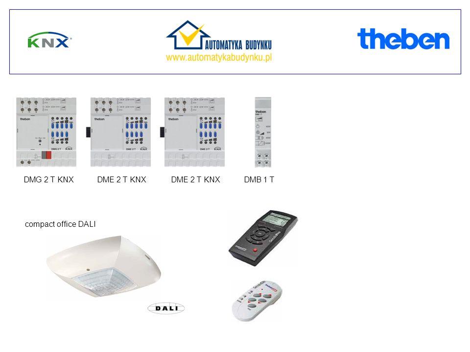 DMG 2 T KNXDME 2 T KNX DMB 1 T compact office DALI