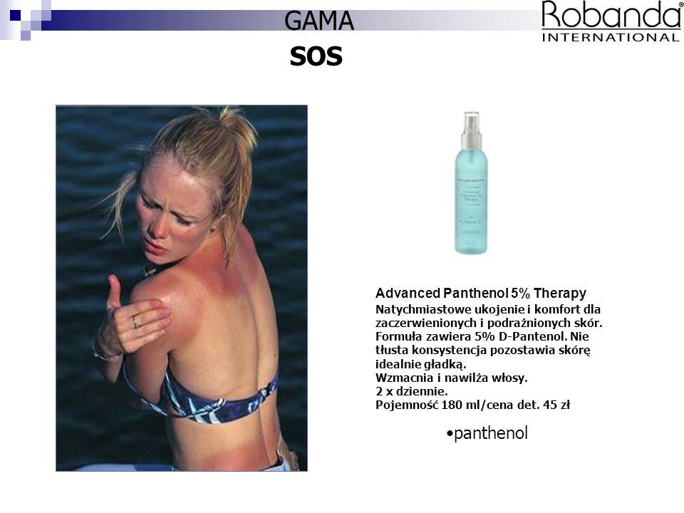 SOS Advanced Panthenol 5% Therapy Natychmiastowe ukojenie i komfort dla zaczerwienionych i podrażnionych skór.