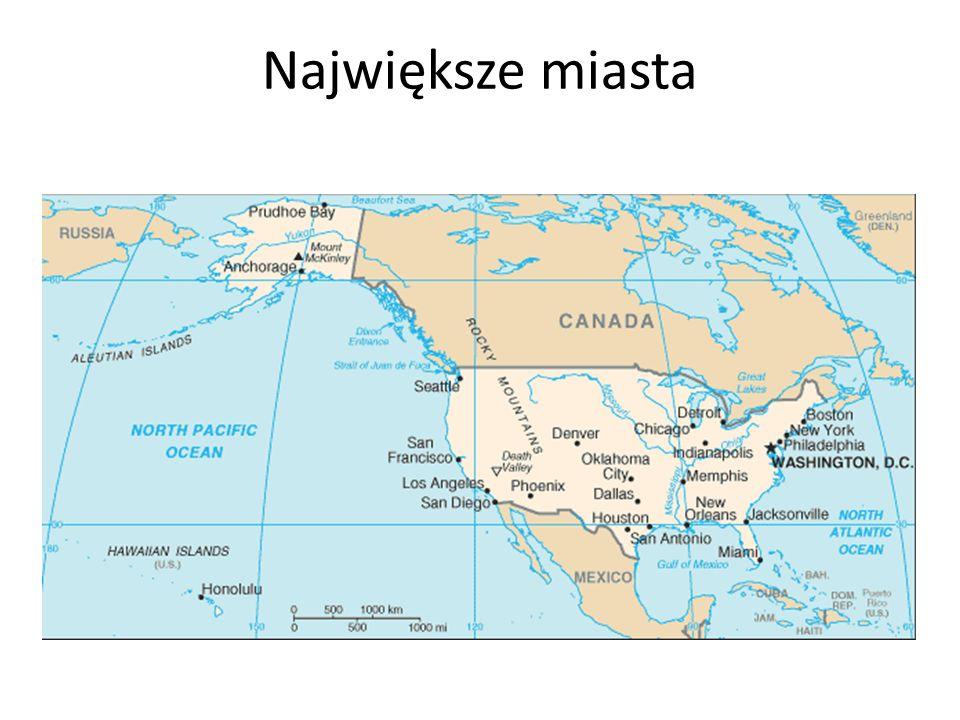 Warszawa Największe polskie miasto pod względem ludności i powierzchni.