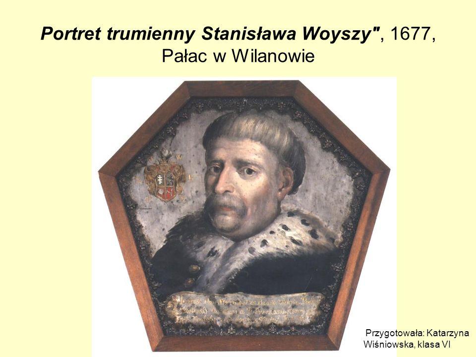 Portret trumienny Stanisława Woyszy