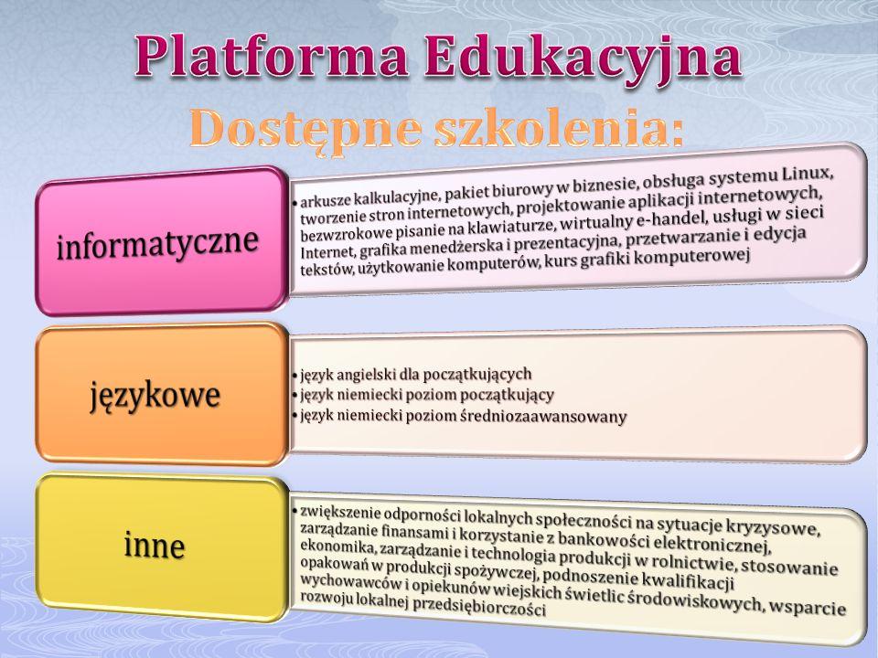 Centrum daje możliwość bezpłatnego korzystania z komputerów i Internetu każdemu mieszkańcowi Gminy Spytkowice.
