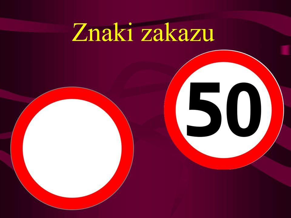 Zakaz wyprzedzania Znak ten zabrania kierującym pojazdami silnikowymi wyprzedzania pojazdów silnikowych wielośladowych.