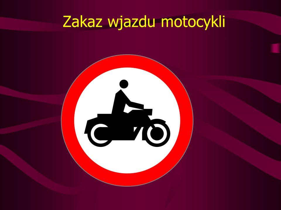 Zakaz wjazdu pojazdów z materiałami niebezpiecznymi oznaczonych tablicą ostrzegawczą barwy pomarańczowej Oznacza, że wjazd na drogę pojazdów przewożących materiały niebezpieczne i oznaczonych tablicami ostrzegawczymi o barwie pomarańczowej jest zabroniony.