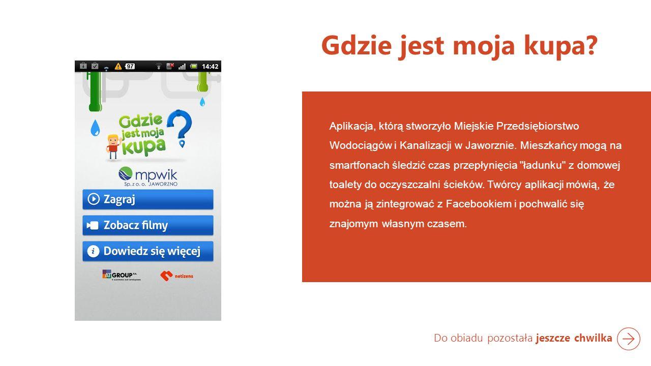 Aplikacja, którą stworzyło Miejskie Przedsiębiorstwo Wodociągów i Kanalizacji w Jaworznie.