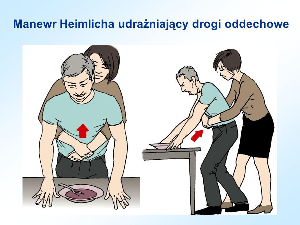 Masaż pośredni serca Prawidłowe ułożenie dłoni w masażu pośrednim serca