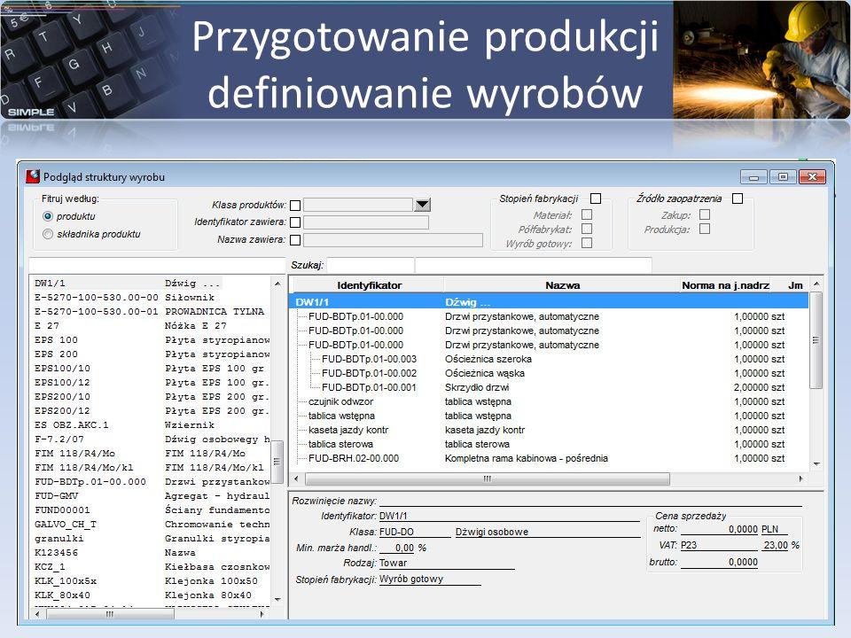 Kalkulacja TKW Kalkulacja TKW może automatycznie korygować wycenę dokumentów PW oraz kosztów na dokumentach WZ